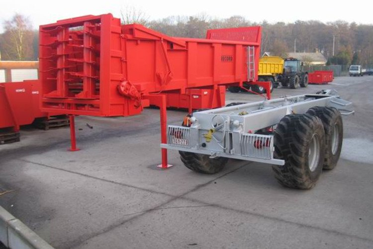 Detachable trailers